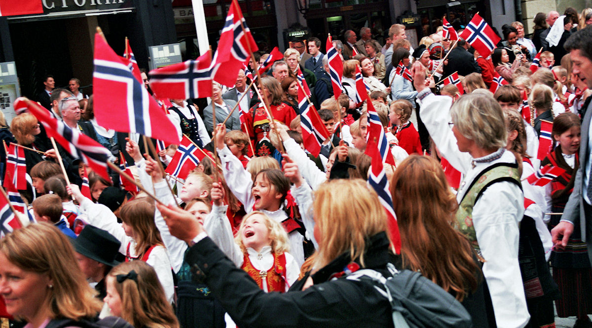 Norway's National Day Celebrations